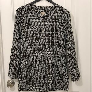 Michael Kors long sleeve top size small